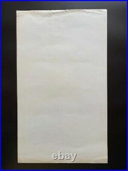 Jefferson Airplane Concert Poster 1967 Fillmore