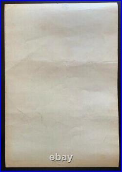 Jefferson Airplane Concert Poster 1967 Winterland