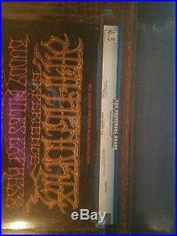 Jimi Hendrix CGC Concert Poster BG 140 OP-1