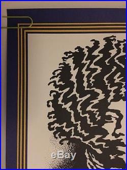 Jimi Hendrix Pinnacle Concert Vintage Poster 4th Printing John Van Hamersveld