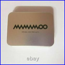 K-POP MAMAMOO Concert CURTAIN CALL Official Limited Logo Ring Ver 2.0