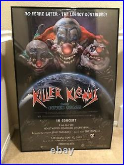 Killer Klowns From Outer Space 30th Anniversary Concert Poster