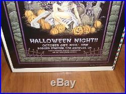 Kiss concert/tour poster S/N Pratt 88/100 Halloween'98