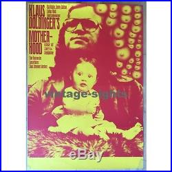 Klaus Doldinger's Motherhood (Vintage Concert Poster 1969)