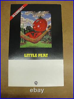 LITTLE FEAT In Concert 1978 US PROMO Tour POSTER Waiting For Columbus LOWELL