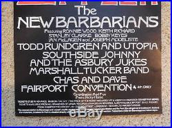 Led Zeppelin Original Concert Music Poster Knebworth Park 1979