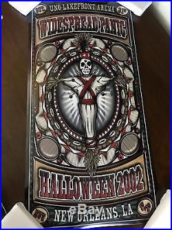 Lot Of 4 Widespread Panic Original Concert Posters San Francisco New York Etc