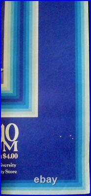 MILES DAVIS YPSILANTI MICHIGAN 1973 JAZZ concert poster GARY GRIMSHAW ULTRA RARE