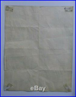 MISFITS Original Concert Poster Flyer 1983 Dallas Samhain Danzig Metallica Rare