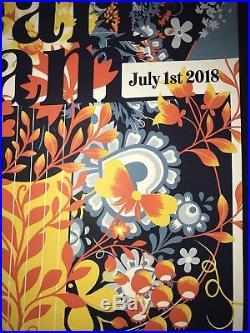 Matt Taylor Pearl Jam Seattle O2 Arena Prague 2018 LE Concert Print 7/1/2018