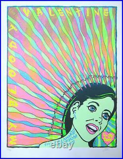 My Bloody Valentine Concert Poster 2009 Lindsey Kuhn