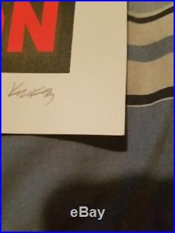 NIRVANA 1993 Concert Poster Frank Kozik Signed & Numbered #437/800 NM