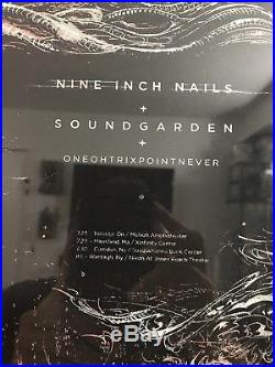Nine Inch Nails Soundgarden Concert Poster Memorabilia Original Print 2014