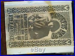 Original 1966 GRATEFUL DEAD Fillmore Concert Poster Wes Wilson #16