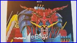 Original 1984 Judas Priest Defenders Tour Concert Poster Long Beach CA 13 x 20