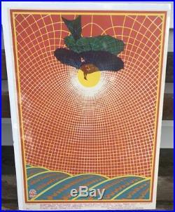 Original Charlatans Buddy Guy Avalon Ballroom 1967 Family Dog Concert Poster