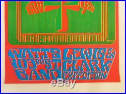 Original Concert Poster-buffalo Springfield-santa Barbara-aor#3.39-earl Warren