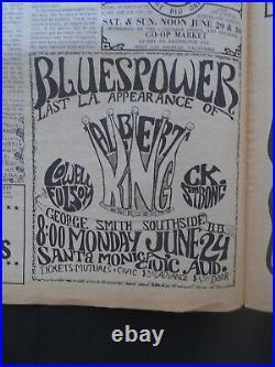 Original Concert Posters Big Show-shrine Flatt & Scruggs-cheetah Sky Forest-bank