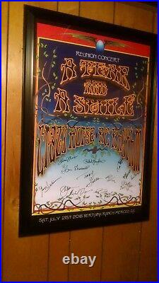 Original Rock Concert Posters of A Tear and A Smile, Crazy Horse & R. G. Rhythm