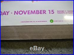 Original SONIC YOUTH MUDHONEY Fillmore West Concert Poster Nov 15 1988 1st Press