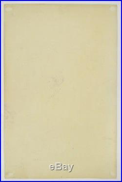 Original VELVET UNDERGROUND Woodrose Ballroom concert poster #1 06/13 & 14/1969