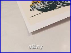 PEARL JAM 2003 FARGO Concert POSTER Ames Bros silkscreen art Eddie Vedder