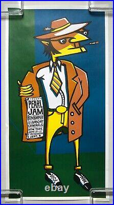 PEARL JAM / BEN HARPER 1998 NY / NJ Concert POSTER AMES 2nd Edition MINTY