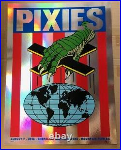 PIXIES Concert Poster 2018 Foil Variant