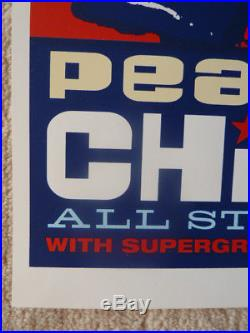 Pearl Jam 2000 Chicago original concert poster Blackie