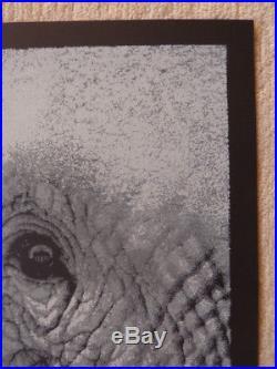 Pearl Jam 2010 Berlin original concert poster Lars P. Krause