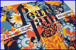 Pearl Jam 2018 Prague Czech Republic Matt Taylor O2 Official Concert Poster