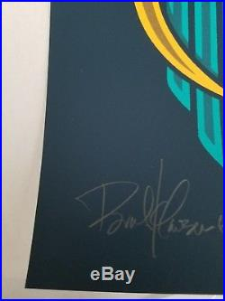 Pearl Jam Brad Klausen S/N Gdynia Poland Concert Poster Print 2010 A/P xx/200