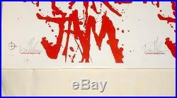 Pearl Jam Brad Klausen Signed 2004 Nc Pa Neocon Concert Poster Rare Un-cut Print