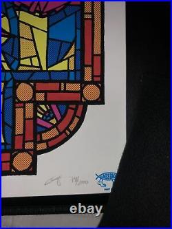 Pearl Jam Concert Poster 07.10.2010 Lisbon Portugal Ames Bros Signed AP # 78/200
