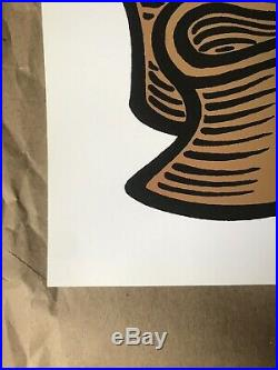 Pearl Jam Concert Poster Chicago, Illinois Ames Bros SE Mint My Morning Jacket
