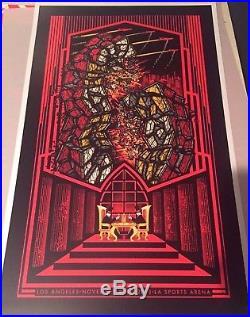 Pearl Jam Concert Tour Poster 2013 Los Angeles Brad Klausen Eddie Vedder