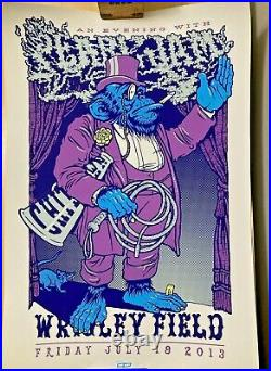 Pearl Jam July 19, 2013 Chicago Cubs Wrigley Field Concert Poster Ames Bros NEW