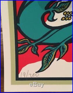 Pearl Jam Memphis TN 2014 Brad Klausen AP Concert Poster /200 Eddie Vedder