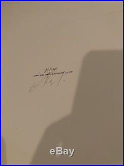 Pearl Jam Rome Italy Nov 12 1996 Original S&n # Concert Poster + 6 Cards