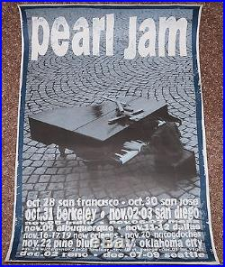 Pearl Jam concert poster flyer collection Seattle Northwest Mookie Blaylock RARE