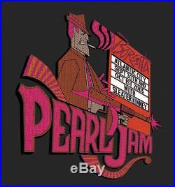 Pearl Jam concert poster screenprint atlantic city NJ borgata 9/30/05 klausen