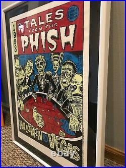 Phish 1998 Halloween Vegas Silkscreen Concert Poster SIGNED Ward Sutton Pollock