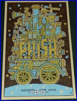 Phish Cobo Arena Detroit 2009 Original Le Concert Poster Print Methane Studios