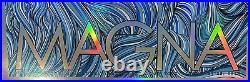 Phish Magna Watkins Glen 2015 Boyer Orig Silkscreen Concert Poster Foil Ap Wa