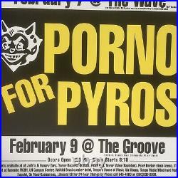 Porno For Pyros & The Jesus Lizard Original Vintage Hawaii Concert Posters