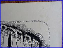 Pow Wow 3rd Print A Gathering of the Tribe Original Concert Poster R. Griffin C
