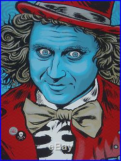 Primus Zoltron New York Halloween concert tour poster print NY NYC Willy Wonka