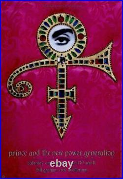 Prince 1993 Act 1 Concert Tour Bill Graham CIVIC Auditorium Poster / Nmt 2 Mint