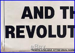 Prince and the Revolution 1986 Parade Tour Belgium Original Concert Poster