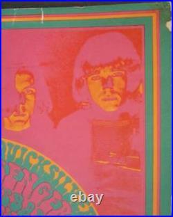 QUICKSILVER MESSENGER FD53-1 FAMILY DOG VICTOR MOSCOSO concert poster 1967 RARE